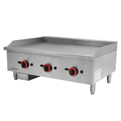 Gas Countertop Griddle Triple Control - EGG-36SX